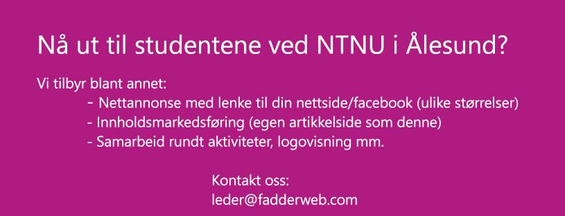 Nå studentene ved NTNU i Ålesund